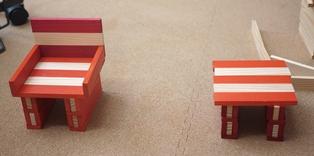 カプラで椅子とテーブル121110