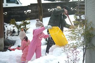 雪遊びー3-121229