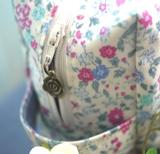 オムツポーチ 花柄 チャーム130126