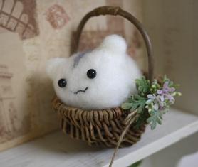 羊毛フェルト ハムスター-2-130316