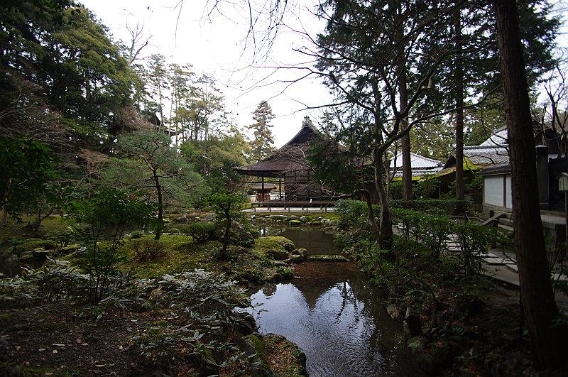 南禅院の冬景色