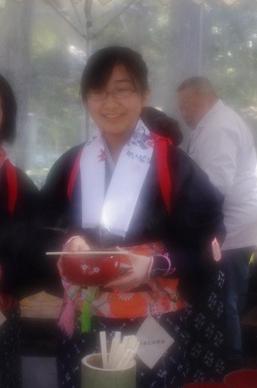 大原観光協会のお姉さん
