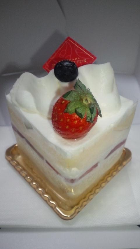 直人さんハッピーバースデイ!のケーキ。