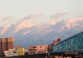 有沢橋からの眺め