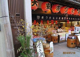 清水寺参道の土産店
