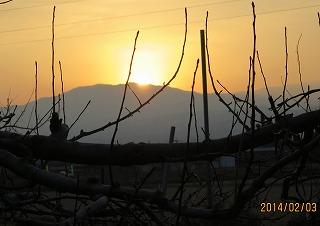 薬師岳の略中央