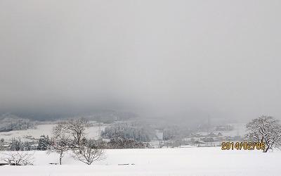 これが本当の冬景色