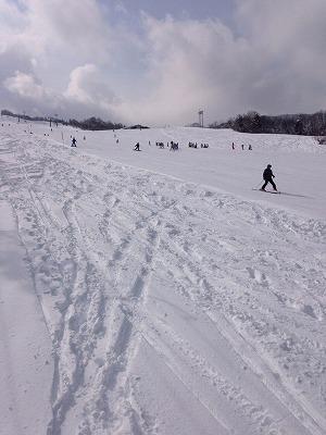 山下さんのスキー