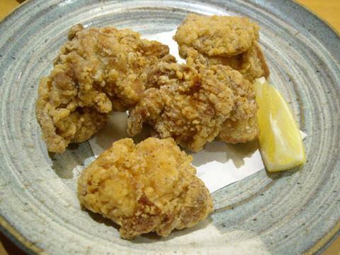 ぶんか亭・鶏塩唐揚げ