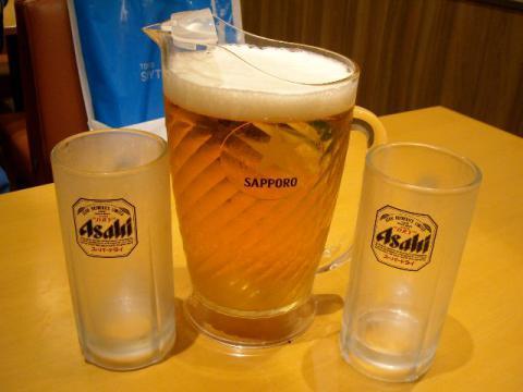 ぶんか亭・生ビール