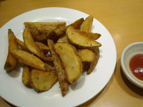 ぶんか亭・ポテトフライガーリック風味