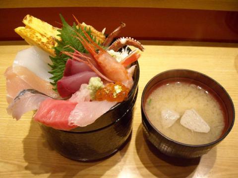 いきいき亭・ミニ金沢丼1