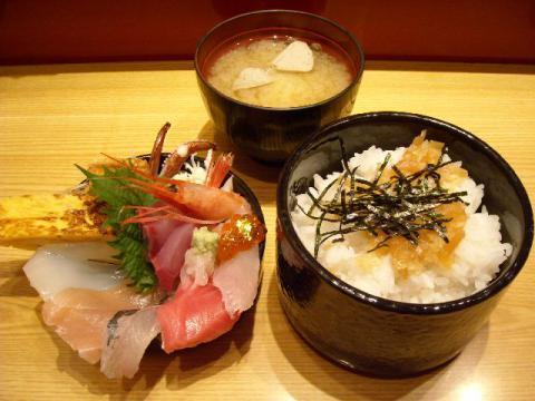いきいき亭・ミニ金沢丼2