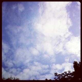 10月17日の空