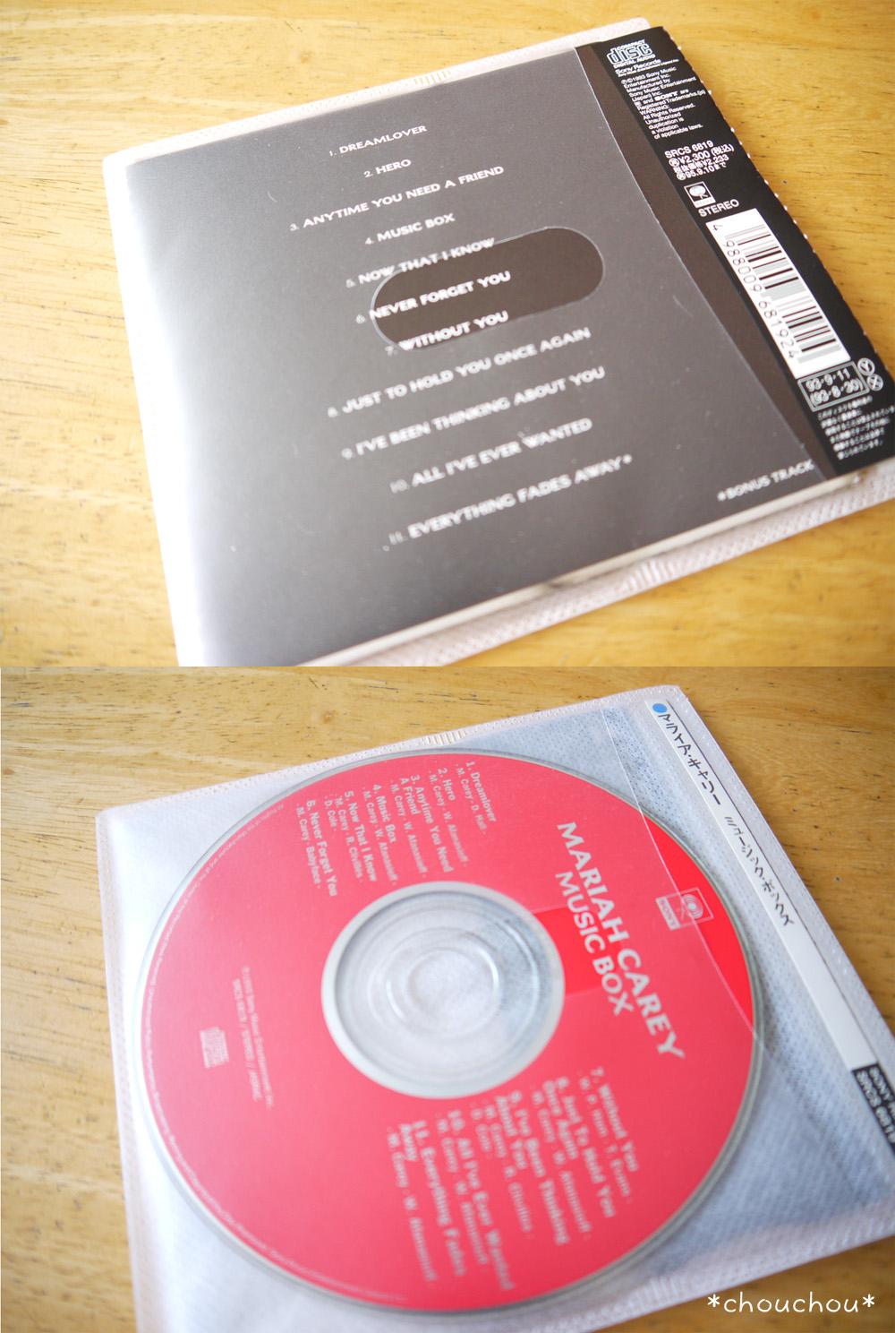 CD ソフトケース 表裏