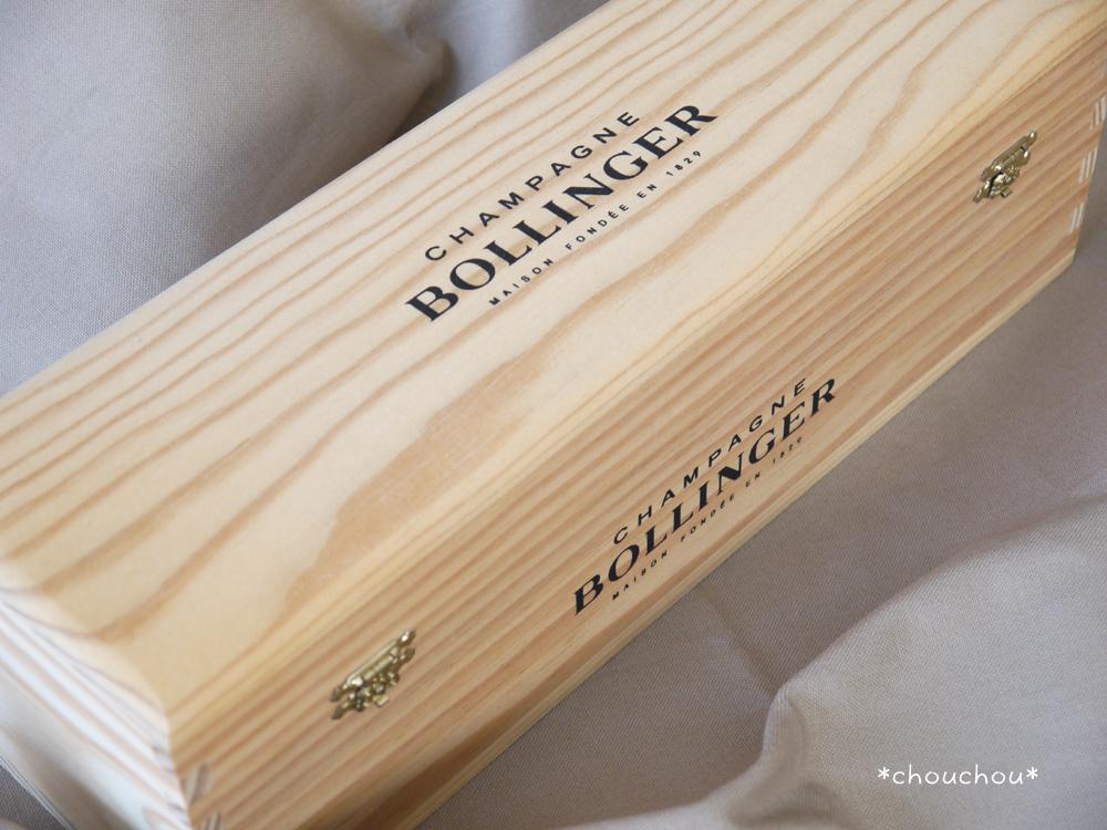 シャンパン 木箱