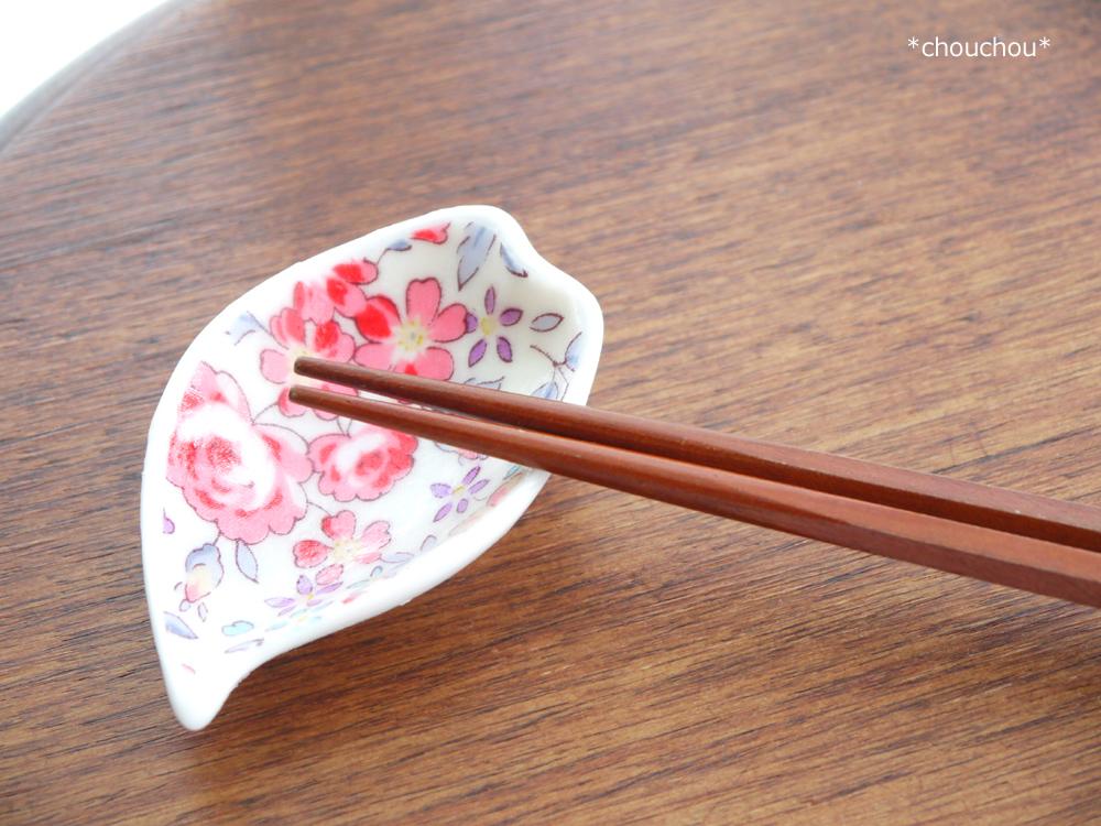 豆皿 デコパ 箸