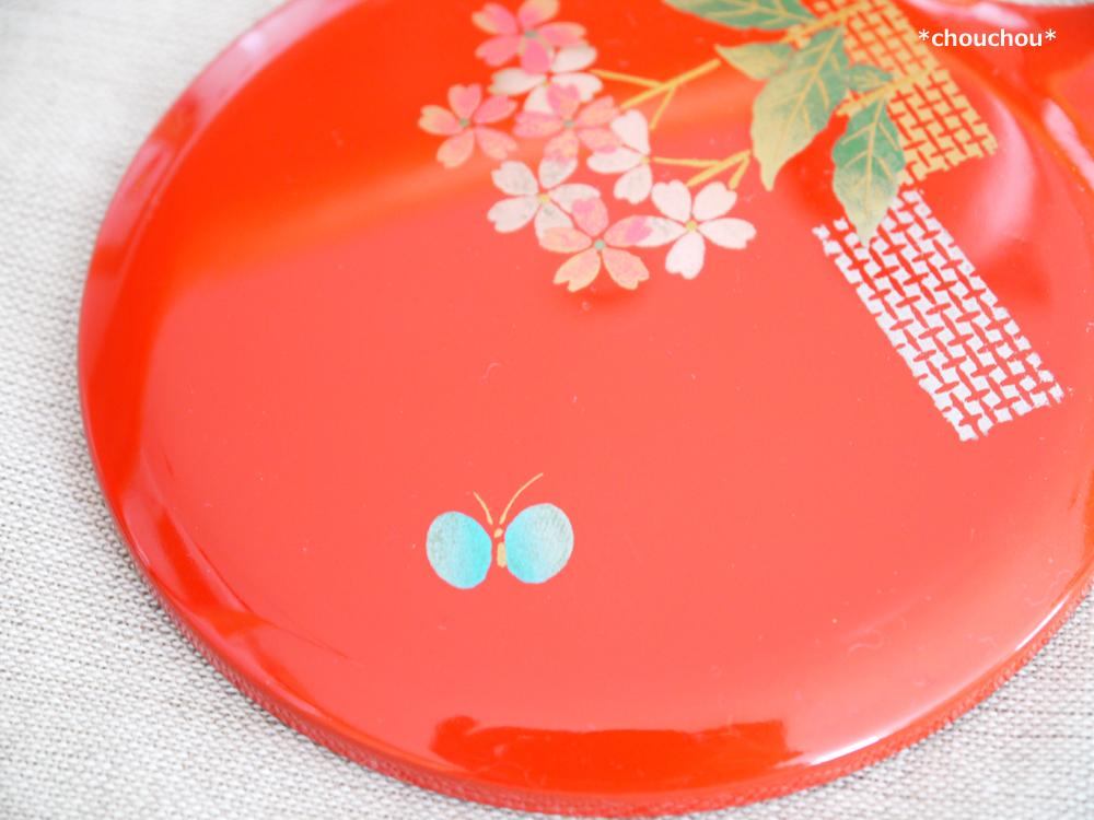 手鏡 蝶々