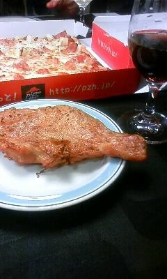 ピザ&チキン