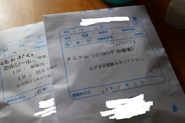 20140106インフルエンザ薬