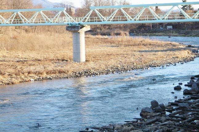 20140201奈良井川