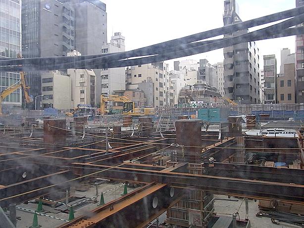 ヘアサロン大野のあった元古河ビルの辺り(東京中央区日本橋室町2丁目付近 2012年06月20日撮影