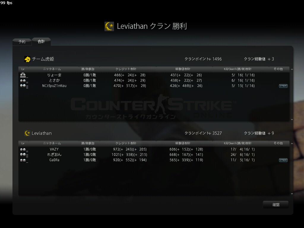 チーム虎姫003