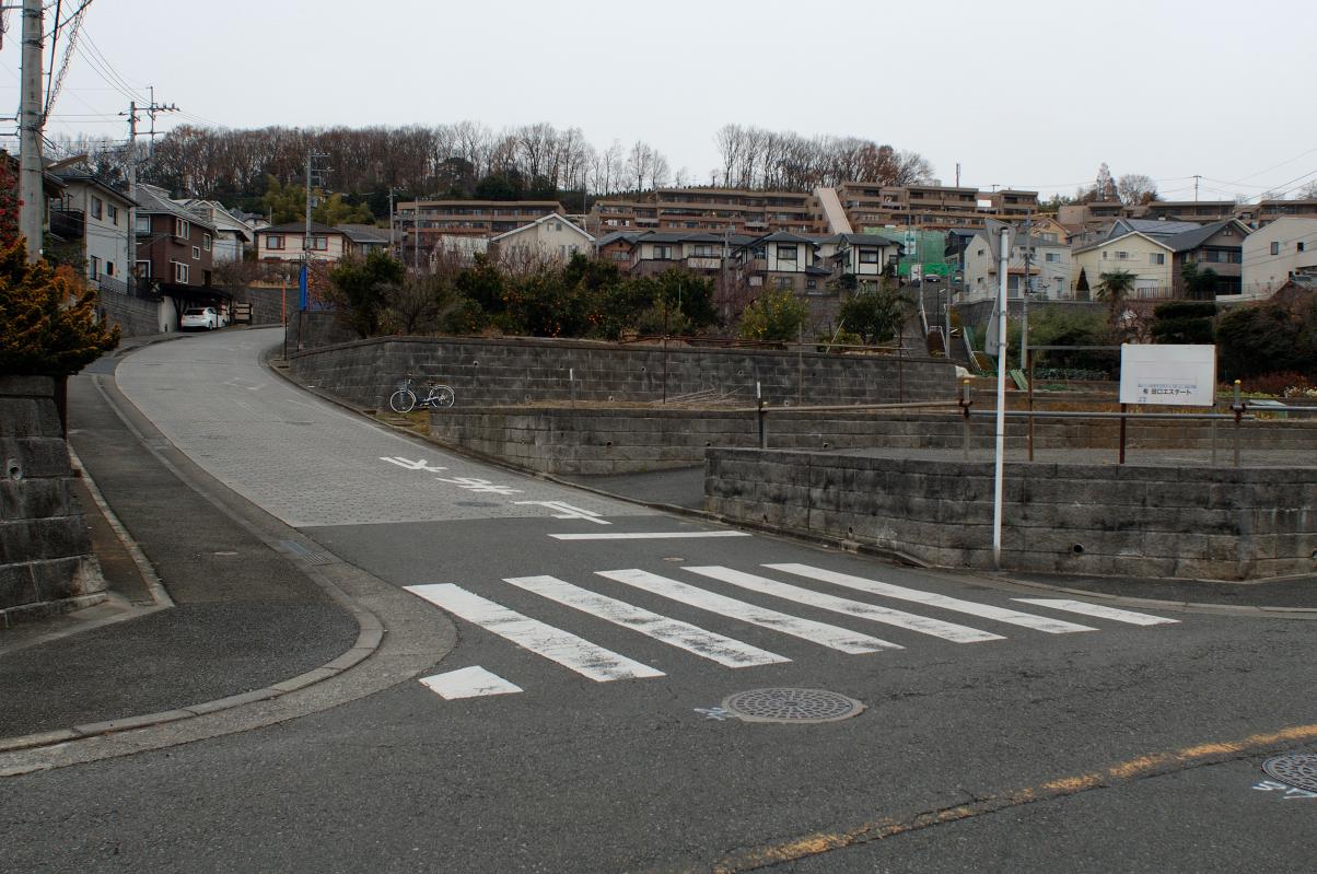 2013/12/18(水)バス停付近