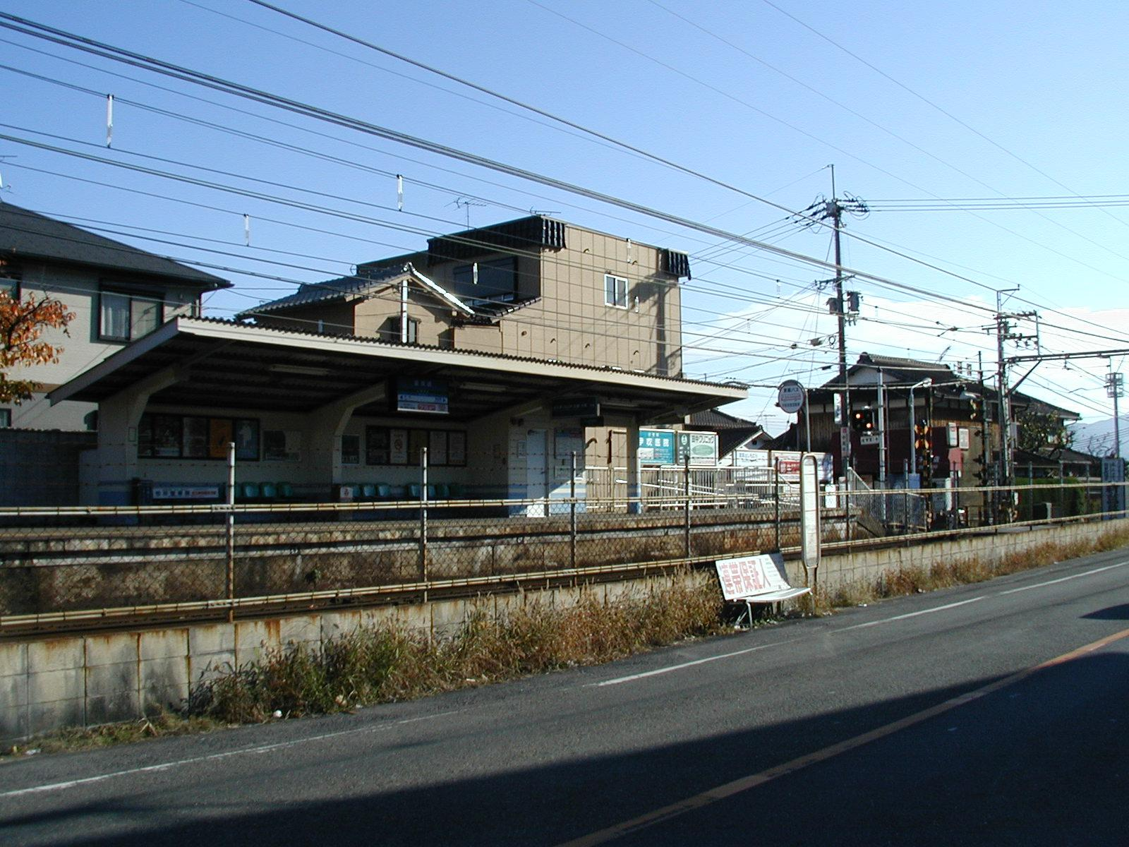 京阪滋賀里駅前