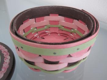 ロンガバーガー バースデーケーキバスケット3