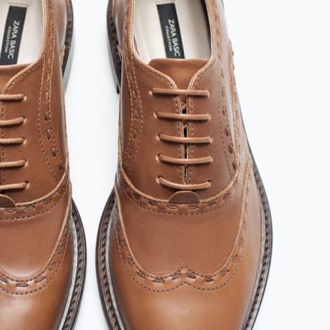 zara shoes oxford