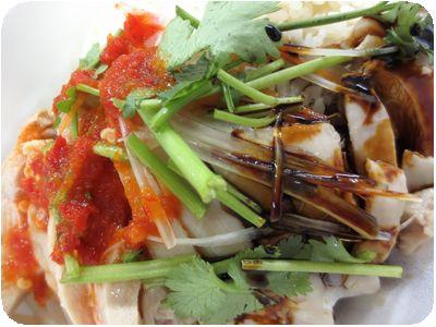 シンガポールチキンライス ホワイト(蒸し鶏)