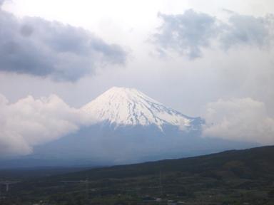 新幹線からの~富士山