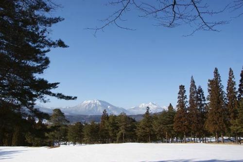 晴天続きの雪山10