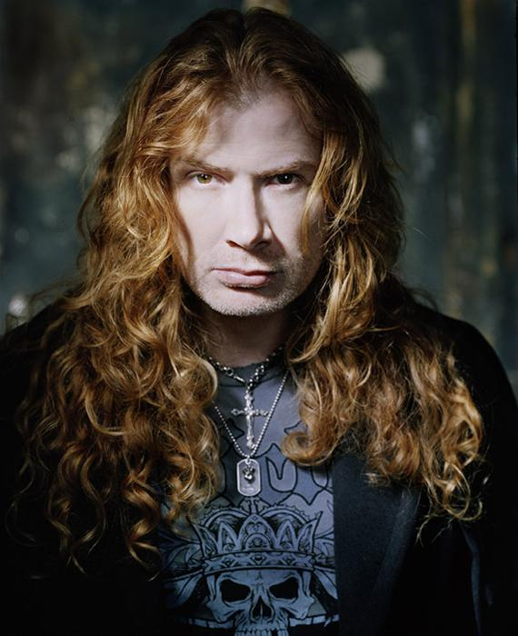 dave mustaine 威嚇する大佐ちゃん