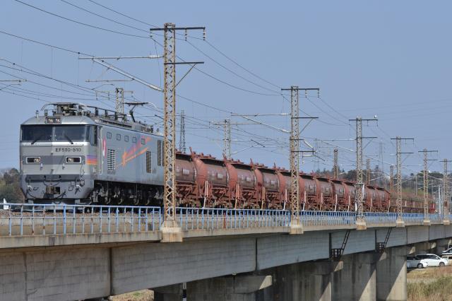 勝田ー水戸 安中 EF510-510