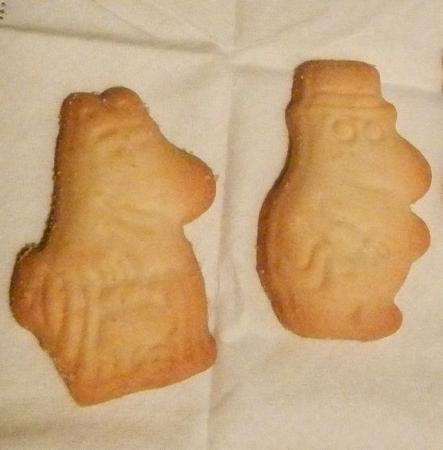ムーミンクッキー夫婦