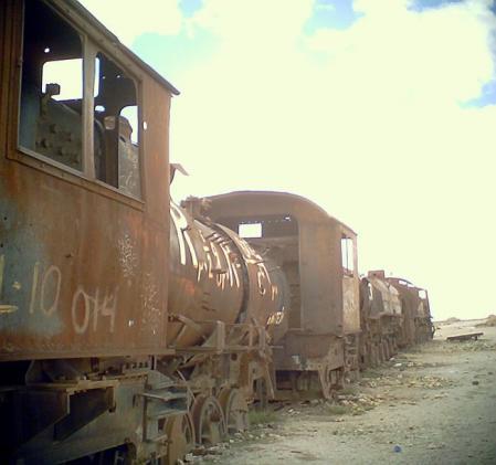 列車の墓場3