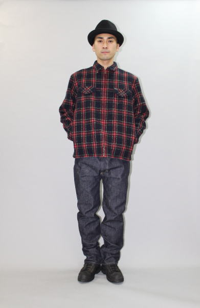 INTERFACE WOOL CHECK SHIRTS JKT