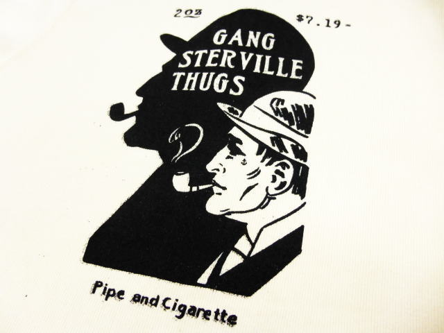 GANGSTERVILLE Pipe and Cigarette