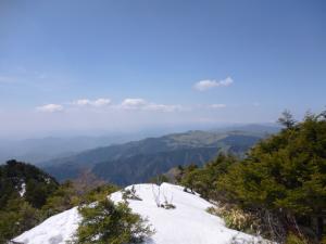 快晴の小秀山 山歩き