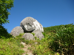 石徹白から別山♪