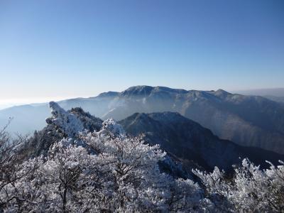 稲村ヶ岳からの眺望!