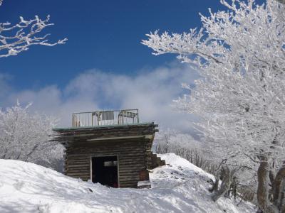 霧氷を求めて高見山♪