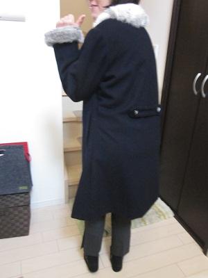 コート背中