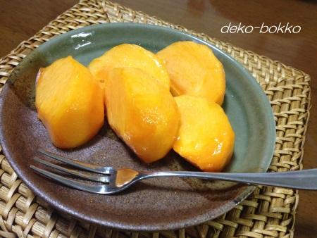 紋平柿(もんべいがき)試食