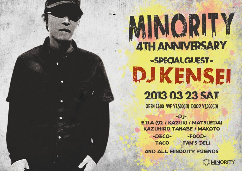 Minority 4th Anni