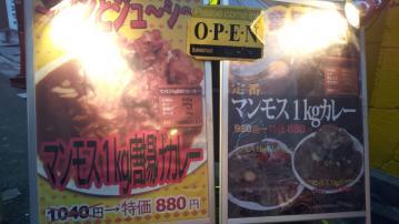 マンモスカレー AKIBA店 (2)