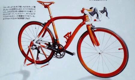 木製自転車2