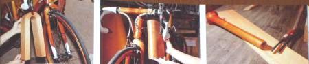 木製自転車3各部分